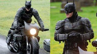THE BATMAN 2021 BAT SUIT FULL REVEAL AND BAT BIKE!