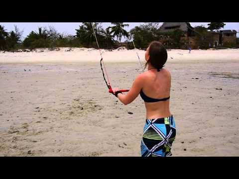 Trainer Kite - Learn Kitesurfing Online Video Tutorial