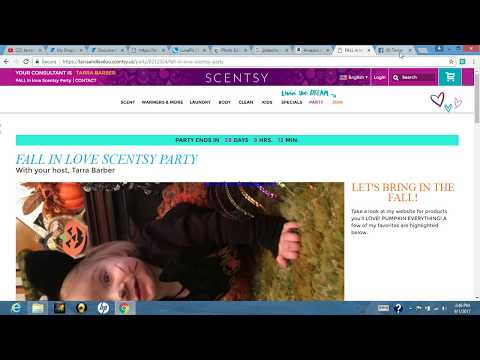 HOW TO: Create/close an online  FACEBOOK (group) SCENTSY party