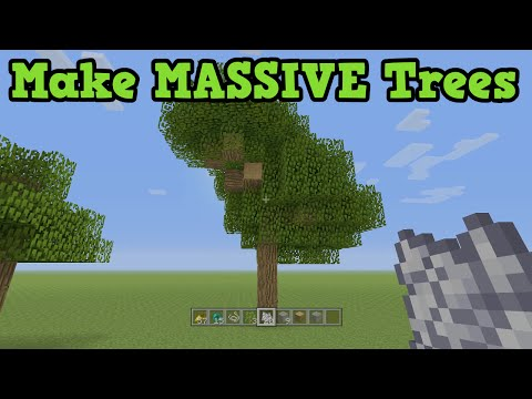 Minecraft - How To Make Giant Trees