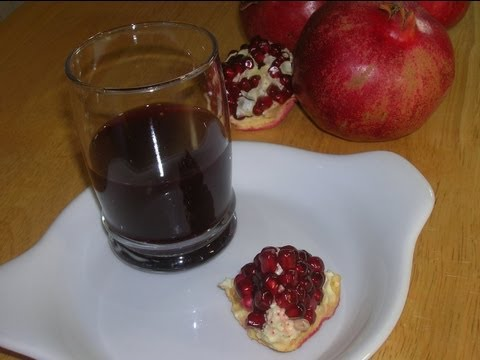 How To Make Pomegranate Juice