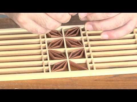 石川県 建具の遠藤「行灯の製造工程」