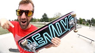 NEW SKATEBOARD SETUP FOR THE FALL! / Andy Schrock