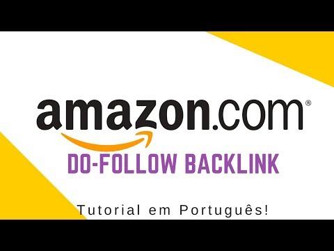 🔥 Como Gerar um Do-follow Backlink da Amazon.com [Tutorial Português] 🔥