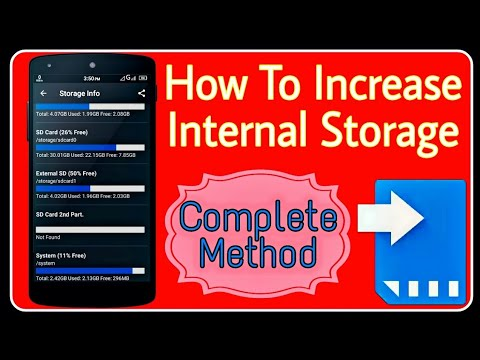 How To Increase [InterNal Storage] on Android | How To inCrEaSe internal Memory of Android phone in