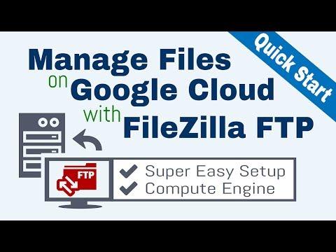Google Cloud FTP Setup with FileZilla