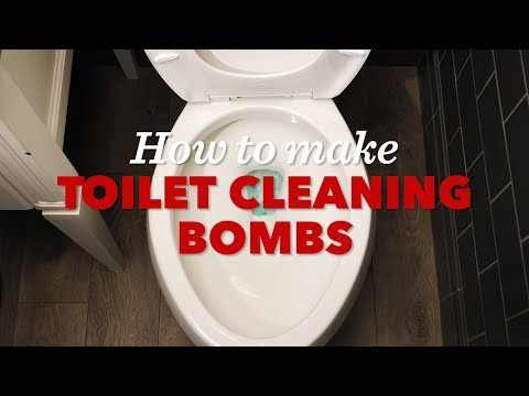How to Make a Toilet-Cleaning Bomb