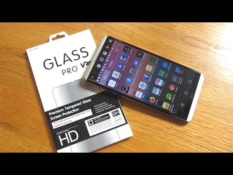 LG v20 Perfect Screen Protector | 9H Tempered Glass