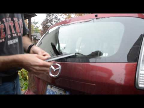 Mazda 5 Rear Wiper Removal and Replacement