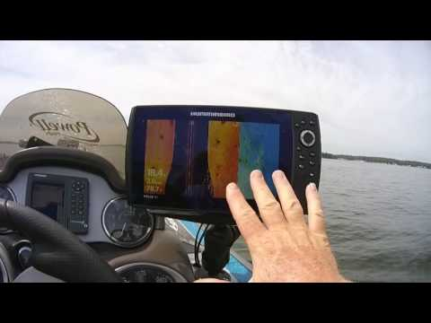 Humminbird Helix Side Imaging and Waypoints