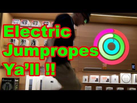 Belkin Jumprope at Apple Store Williamsburg Brooklyn Vlog