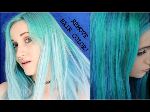 Removing Hair Color WITHOUT Bleach!