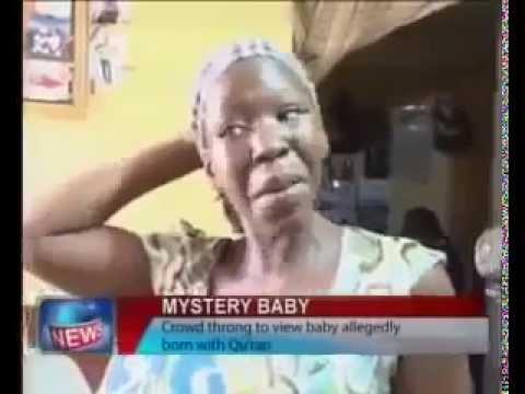 mystery baby born in Nigeria