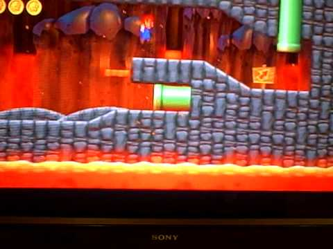 New super Mario bros. wii   How to get level 8-7