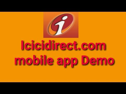 Icici direct trading Demo