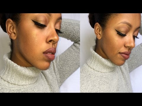 How to Contour & Highlight WITHOUT Wearing Foundation