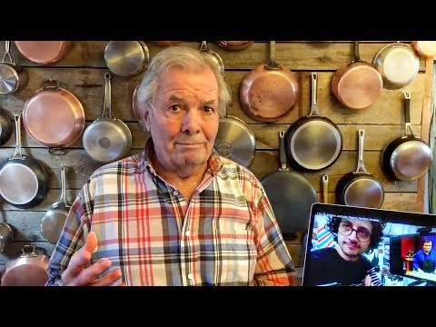 Jacques Pepin Reacts To My Omelet Video !