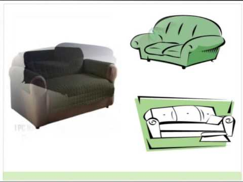 Designer Couch Slip Cover