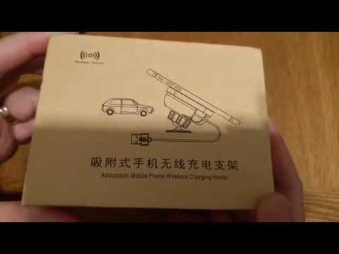DOCA QI Wireless Car Charger unboxing