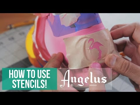 How to Make and Apply Stencils | Angelus Brand