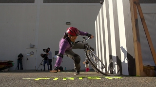 This Bicycle Turns The Opposite Way When You Steer It. Could You Ride It?