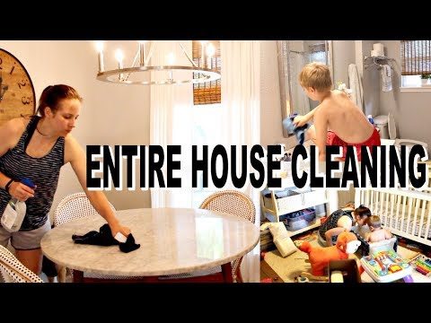 ULTIMATE ALL DAY CLEAN WITH ME | ENTIRE HOUSE | EXTREME CLEANING MOTIVATION
