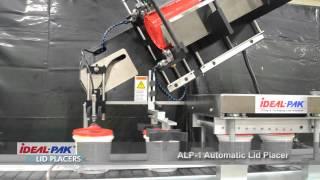 Ideal-Pak ALP-1 Automatic Lid Placer