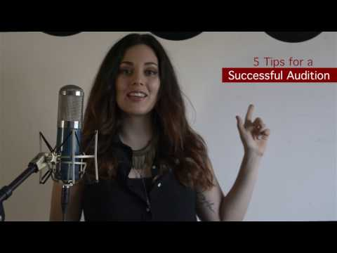 5 Tips for a Successful Singing Audition( The Voice, Broadway)