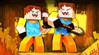 TWO NEIGHBORS!? (Minecraft Hello Neighbor)