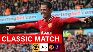MUFC Classics | Chicharito & Welbeck Sink Wolves | Wolves 0-5 Manchester United (2011/12)