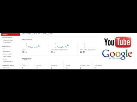 See your Monetized Youtube Channel Earnings
