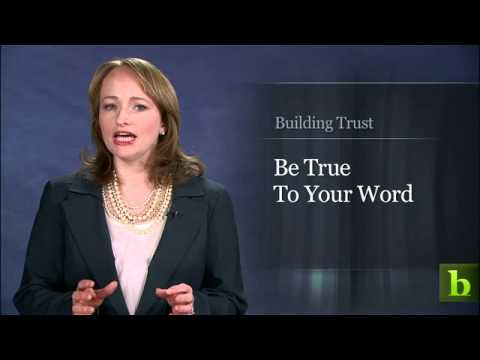 Building Trust | Leila's House of Corrections