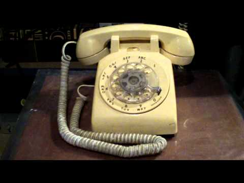 The original WE500 rotary phone bell ringtone
