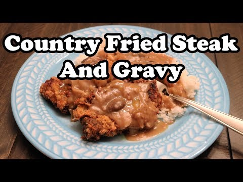 How to Make Country Fried Steak and Gravy (Requested Video) | Home Made | Chef Lorious
