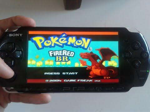 Pokemon Fire Red Em (Pt)  psp iso (tutorial)