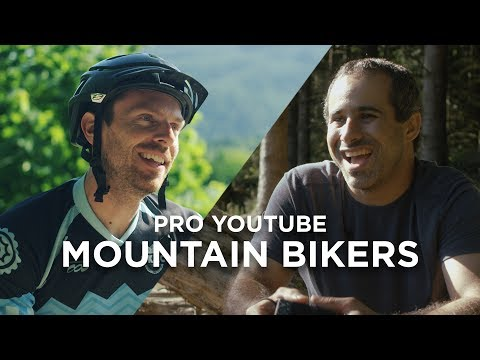 Riding with Pro YouTube Mountain Bikers (Ft. Seth's Bike Hacks & BKXC)