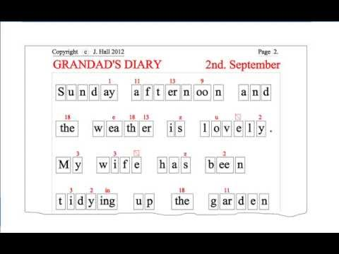 Adult Literacy - Teach YOURSELF to Read English - Sheet 03 - Box Read Learn method -