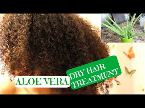 NATURAL HAIR| ALOE Vera Deep Conditioning Treatment for DRY, Brittle Hair!