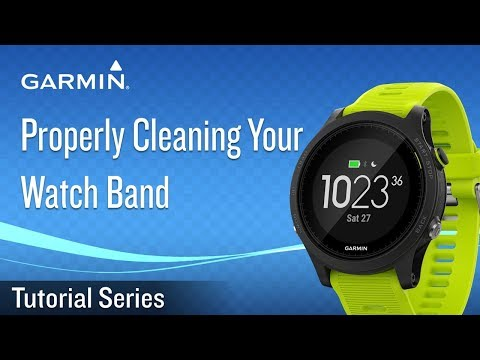 Properly Cleaning Your Watch Band