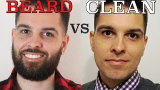 Bearded VS Clean Shaven: The GOOD and BAD of both