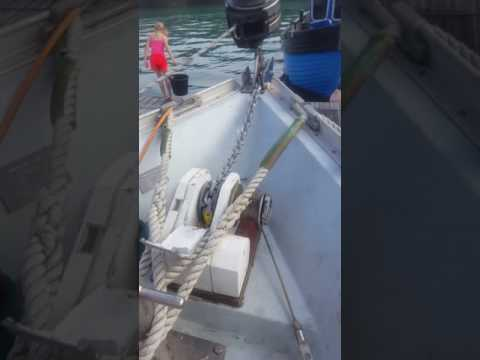 Anchor chain cleaning pt2