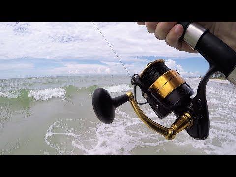 Surf Fishing - Caught My Biggest Mack Yet!