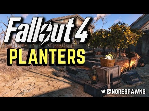 Fallout 4 - Alternative Planters