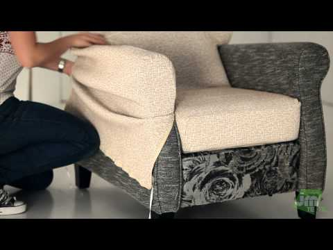 How to Put a Recliner Chair Cover