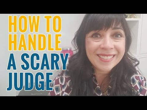 How to Face Scary Judges When Representing Yourself in Custody Court