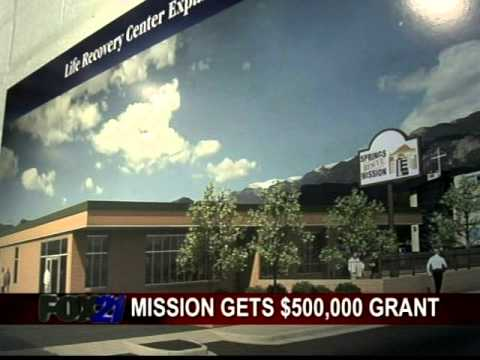 Springs rescue mission grant