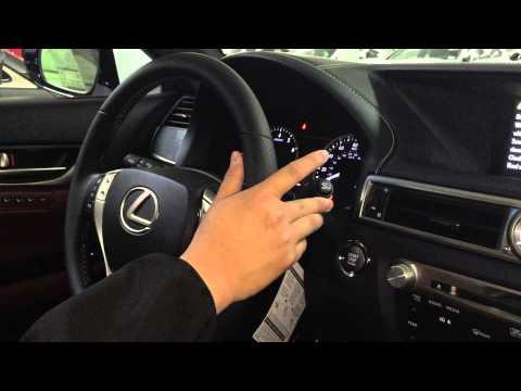 2013-2015 Lexus GS350 - Turn Signal Rapid Flash Adjustment