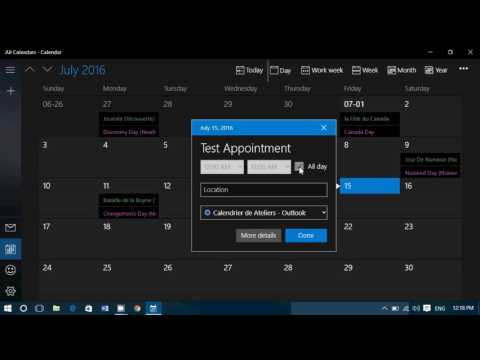 Tips and tricks How to add Appointments to Windows 10 Calendar app and set reminder