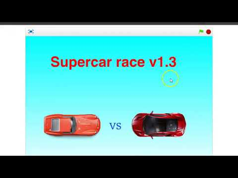 How to create an advanced car race game in Scratch 2.0 part 3
