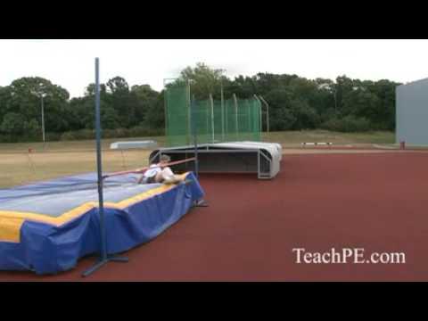 Improving your High Jump Technique - Scissor Drill